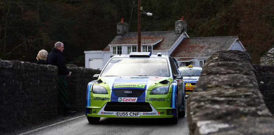 Gronholm takes 25th career win in Wales