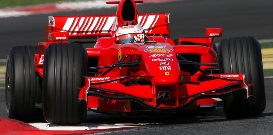 Raikkonen leads on Barcelona day one