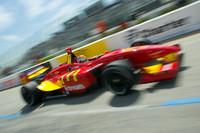 Wilson stays on pole for final Champ Car race