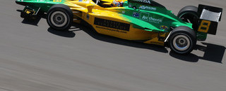 IndyCar Power leads rookie Opening Day at Indy