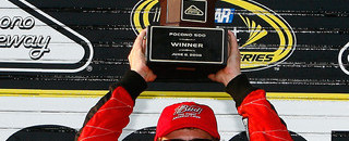 NASCAR Cup Kahne claims Pocono victory