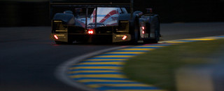 Le Mans Peugeot leads as safety car comes out