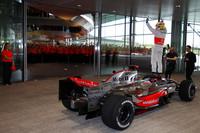 Hamilton and McLaren celebrate championship