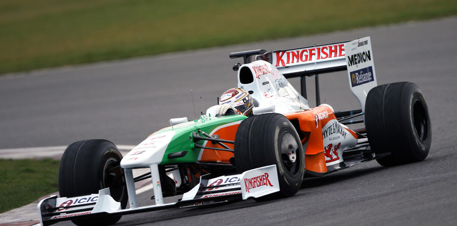 Force India launches VJM02 with lofty goals