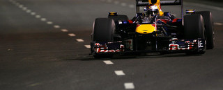 Formula 1 Vettel fastest in Singapore night practice