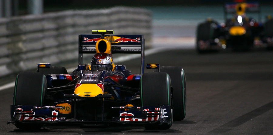 Vettel leads Red Bull 1-2 in Abu Dhabi GP