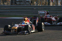 Alonso benefits as Lady Luck abandons Vettel