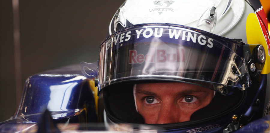 Vettel leads Red Bull 1, 2 for Chinese GP front row