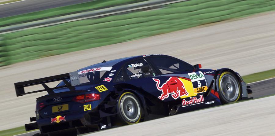 Ekstrom shines in hot Valencia qualifying