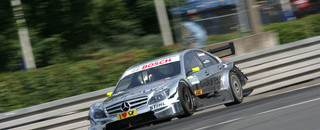DTM Schumacher takes first DTM pole at Norisring