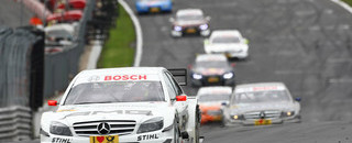 DTM Di Resta cruises to first 2010 win at Brands Hatch