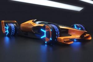 Spektakuläre Studie: So stellt sich McLaren die Formel 1 im Jahre 2050 vor