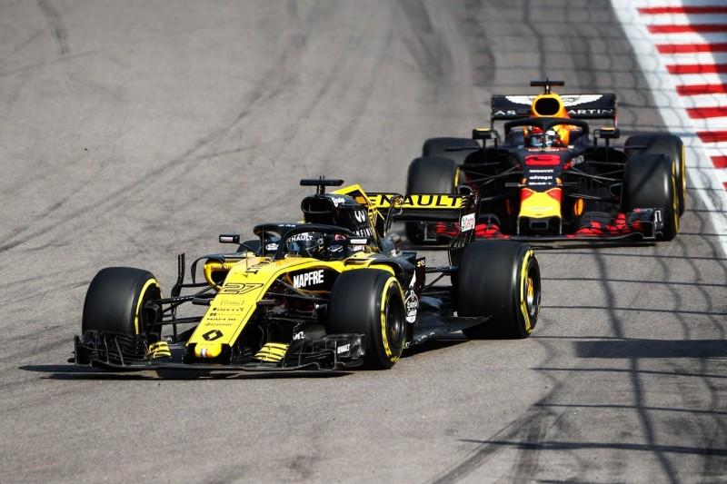 Ricciardo-Testsperre schmeichelt Renault: