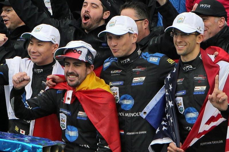 Fernando Alonso: Daytona-Sieg