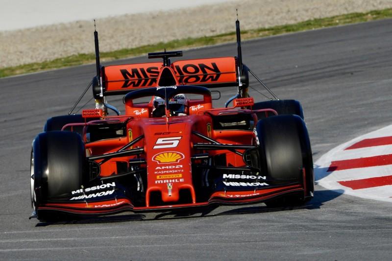 Formel-1-Tests Barcelona 2019: Vettel fährt Bestzeit - Räikkönen im Kiesbett
