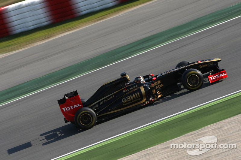 Lotus Renault Barcelona test report 2011-03-10