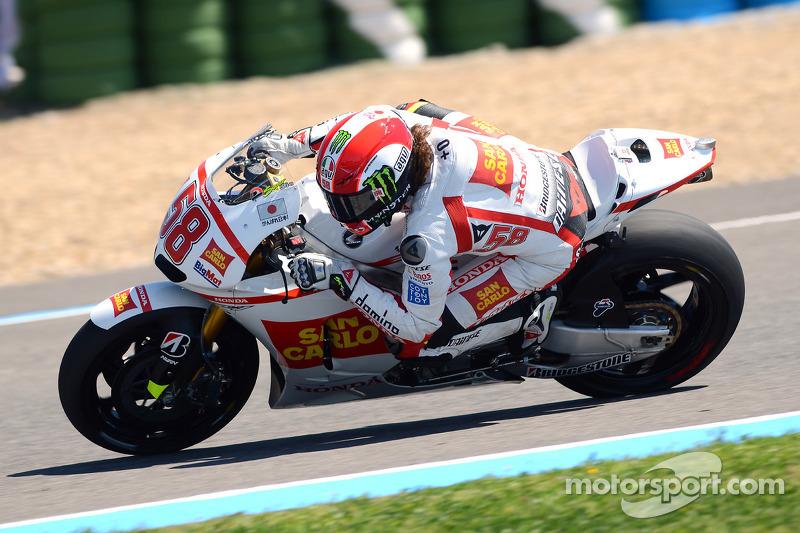 Gresini Racing Qualifying Report