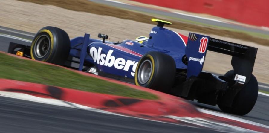 GP2 Silverstone Test - Day 2