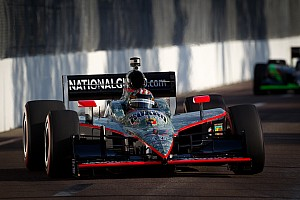 IndyCar Panther Racing qualifying report