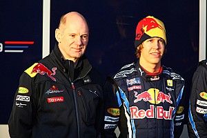 Formula 1 Newey important for new Red Bull contract - Vettel