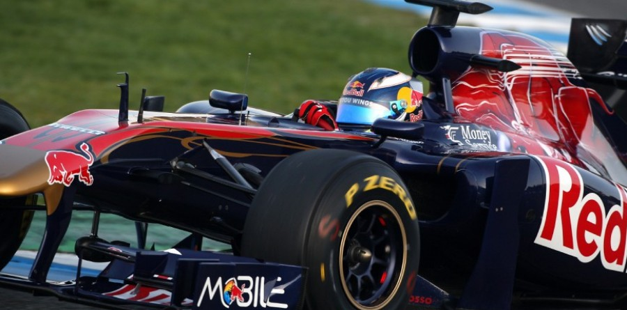 Race for Red Bull's F1 seats hots up