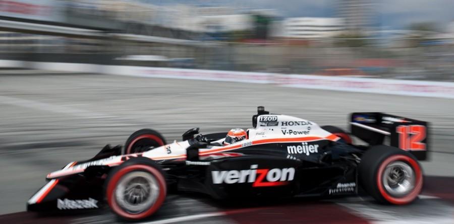 Team Penske qualifying report