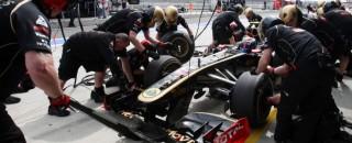 Formula 1 Turkish GP Lotus Renault Friday Practice Report