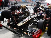 Turkish GP Lotus Renault Friday Practice Report