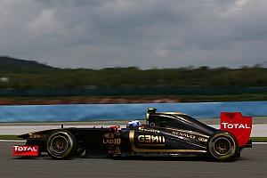 Formula 1 Turkish GP Lotus Renault Qualifying Report