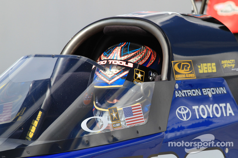 Antron Brown Topeka Final Eliminations Report