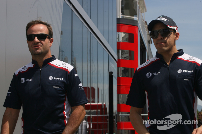 Barrichello awaiting Coughlan's arrival at Williams