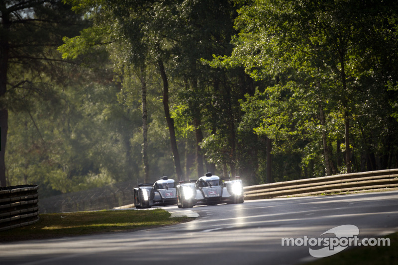 Audi Le Mans 24 Hour Warmup Report