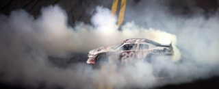 NASCAR XFINITY Joey Logano Takes Nationwide Win In Daytona 250