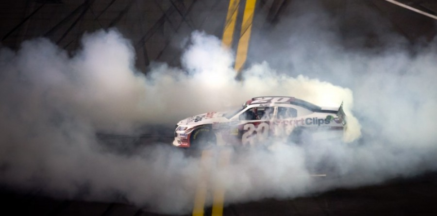 Joey Logano Takes Nationwide Win In Daytona 250