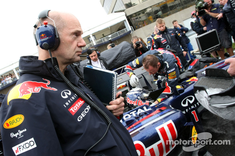 Newey Not Ruling Out Ferrari Switch