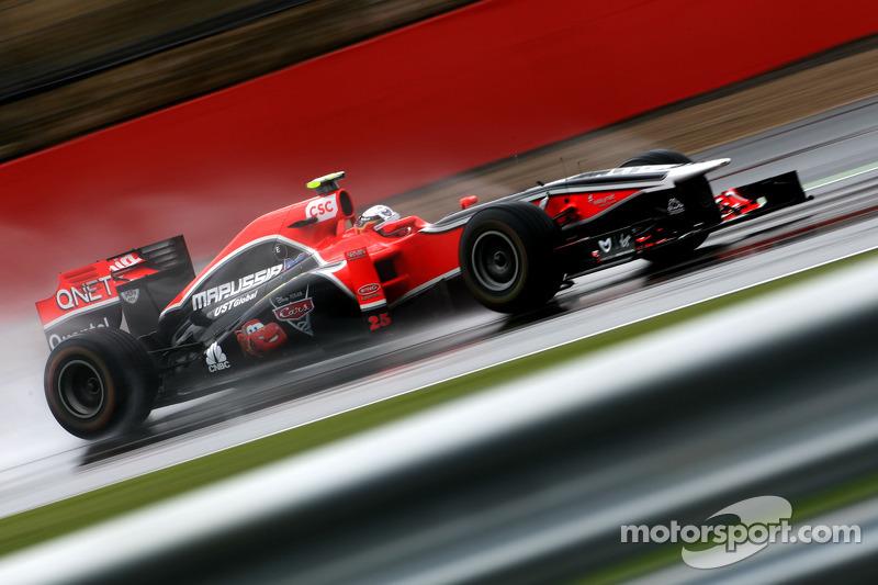 Marussia Virgin British GP - Silverstone Friday Practice Report