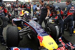 Formula 1 Red Bull Swerve Raikkonen, Eye Webber For 2012