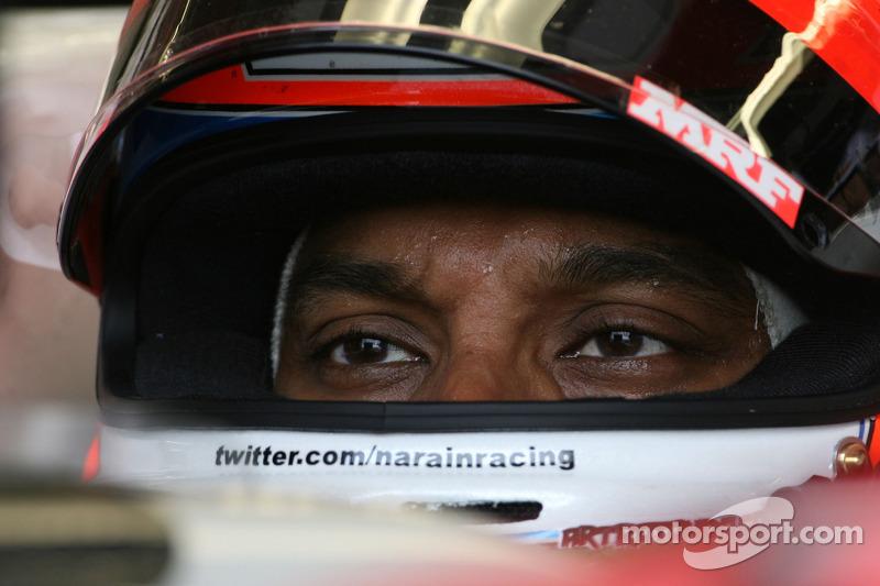 Report - Karthikeyan To Drive HRT On Friday