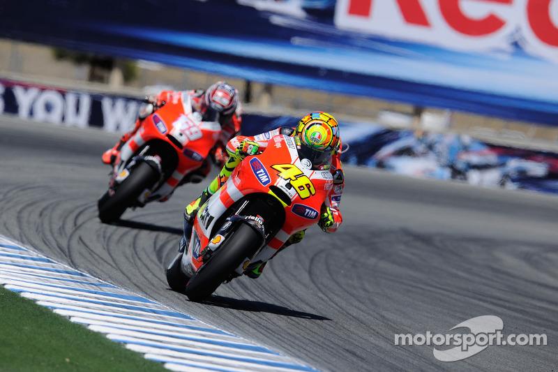 Ducati US GP Race Report