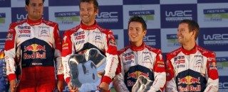 WRC Citroën Scores Double WRC Podium At Rally Finland