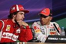 Hamilton, Ferrari Exchange Flirts In Summer Break