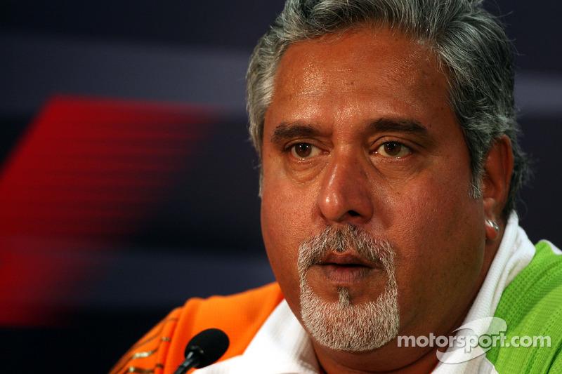 Delhi circuit 'not 100pc ready'  - Mallya