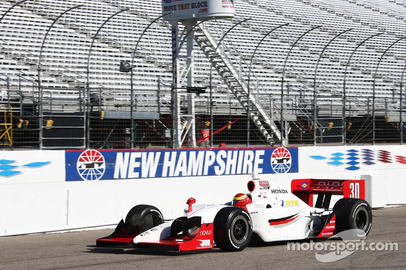 Rahal Letterman Lanigan Racing Loudon test day report