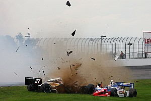 IndyCar Mike Conway Loudon race report