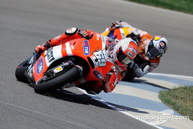 Ducati Indianapolis GP race report