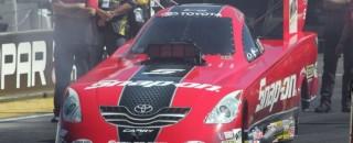 NHRA Series Indianapolis Sunday qualifying report
