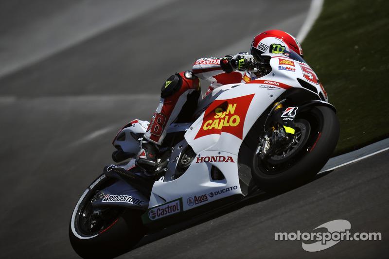 Gresini Racing Aragon GP qualifying report