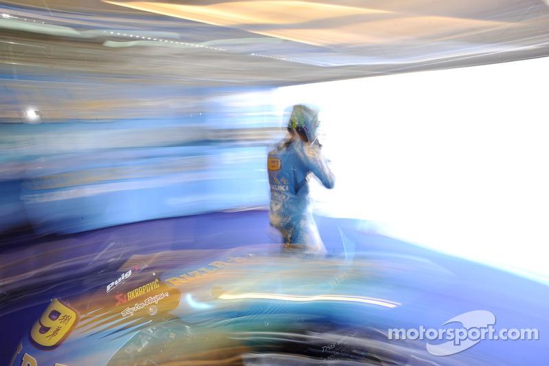 Suzuki  Aragon GP race report