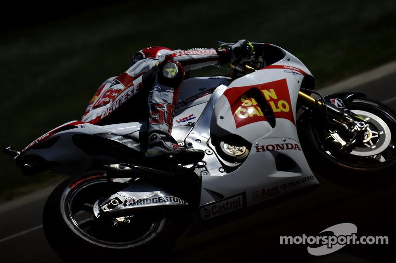 Gresini Racing Aragon GP race report