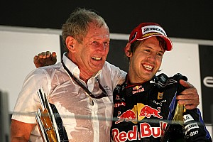 Formula 1 Marko in no rush for Vettel's title seal